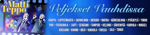 Matti & Teppo - Veljekset vauhdissa -konserttikiertue